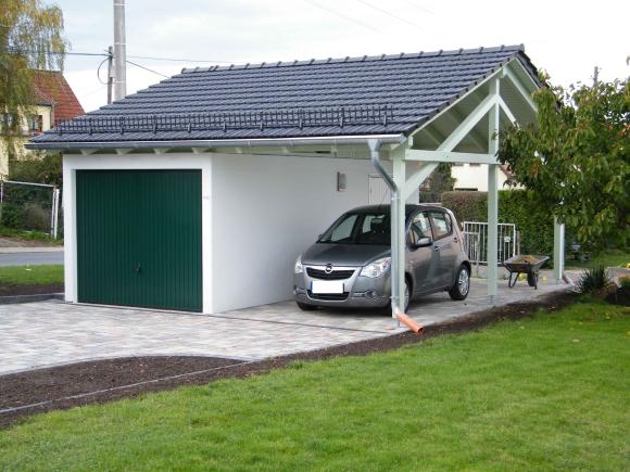 betongarage mit dachaufbau beton garage