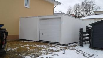 Doppelgarage aus Beton